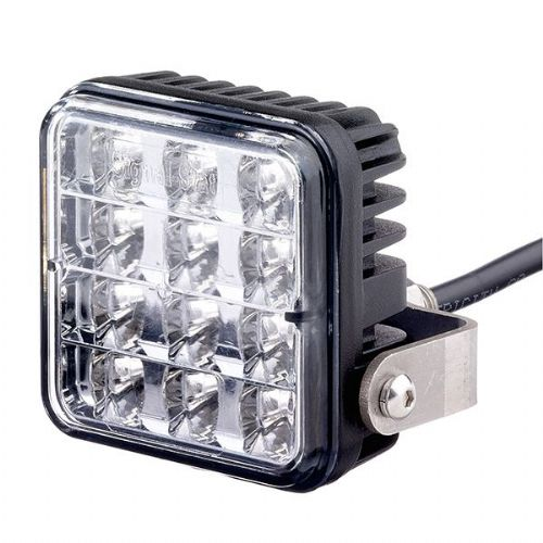 LED Warning Lamp 12/24V Clear Varipod 10 Flash-156/33/00